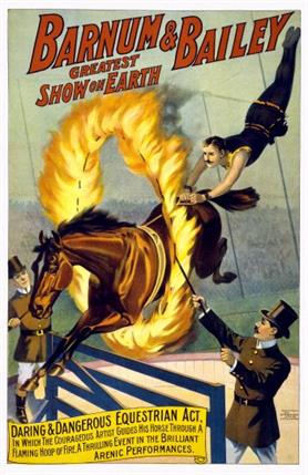 Barnum-and-Bailey-Flaming-Horse-Jump